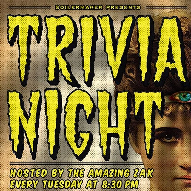 Nothing messes up your Friday like finding out it's only Tuesday.. but that does mean it's Trivia Tuesday tonight! 🍻 And while we have your attention, make sure you get out and vote today! 🇺🇸