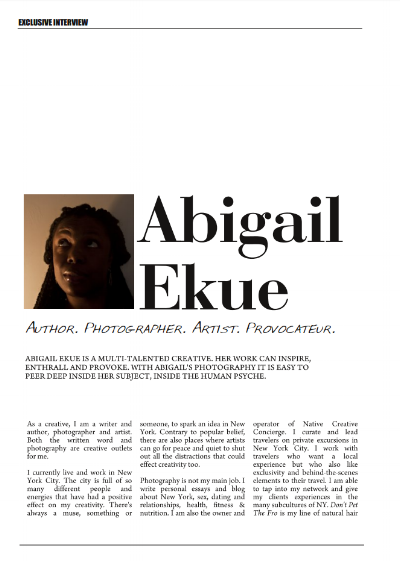 HUF Magazine_Abigail Ekue