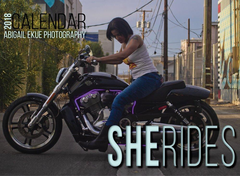 2018 SHE Rides Calendar