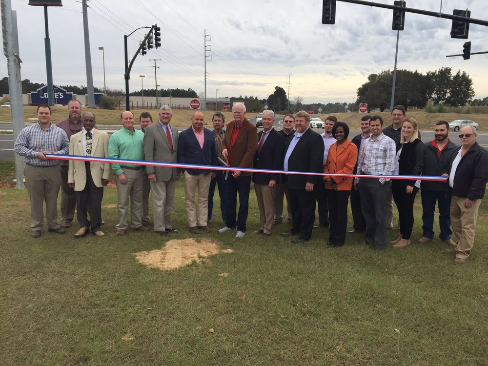 Ribbon Cutting - MS Highway 570 Traffic Signal Upgrades - Mississippi Department of Transportation (MDOT)  2016