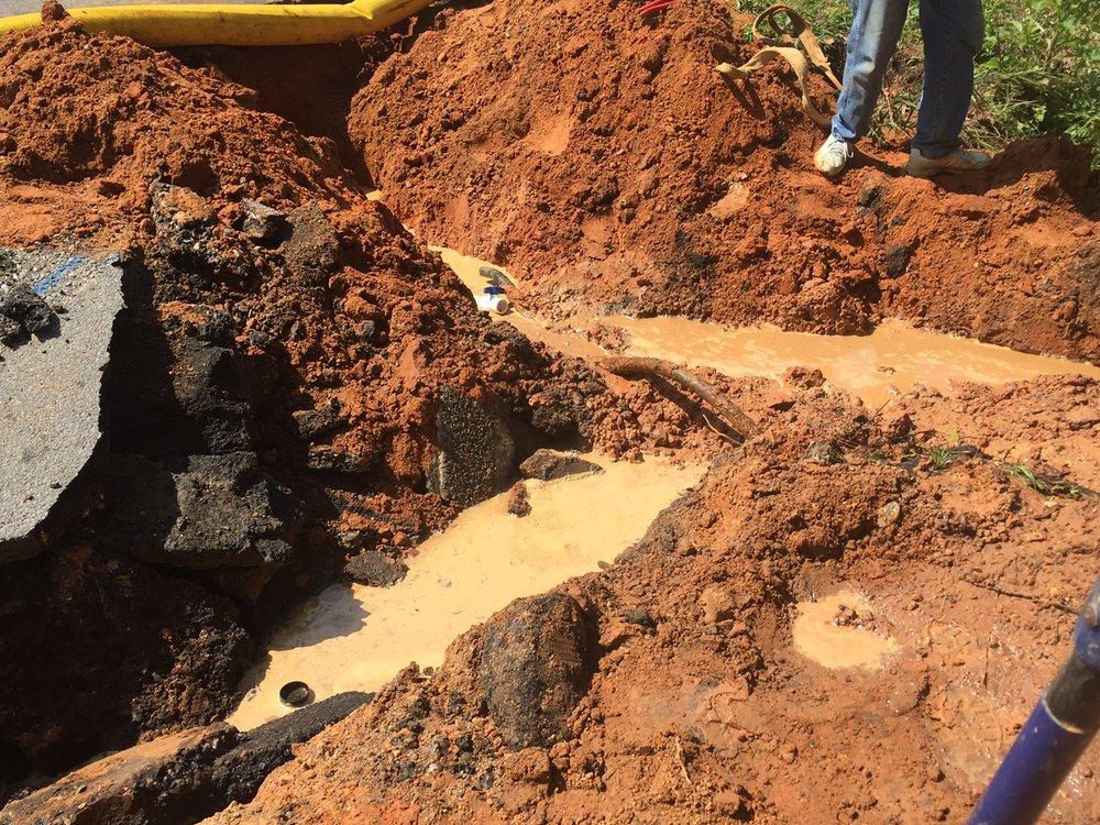 City of Wiggins - Emergency Repair Vine Street Sewer from manhole 320 to Manhole 330  2017