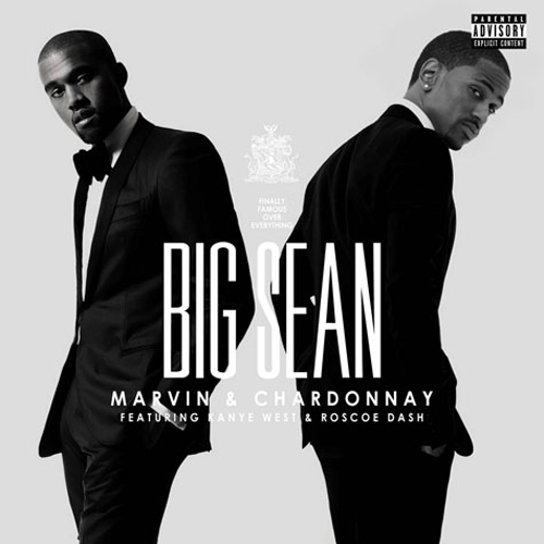 """Marvin & Chardonnay"" feat. Kanye West and Roscoe Dash is the nest single for Big Sean's album  Finally Famous.  Here is the cover for the single. Dapper. Word. Enjoy.   -HB"