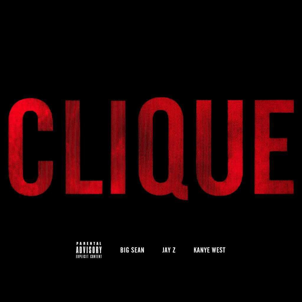 "Kanye West took to his Twitter today to reveal the artwork for what looks to be another single. The track is called ""Clique"" and features Kanye, Jay-Z, and Big Sean. I'm sure we can expect this track very soon. The G.O.O.D compilation is due out September 18th. Enjoy. -HB"