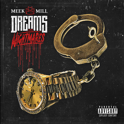 Meek Mill has revealed the album cover for his debut album,  Dreams & Nightmares . I honestly don't know what to expect from Meek Mill in this debut, but I'm hoping for the best. I know he'll definitely bring the energy. October 30th. Enjoy.   -HB