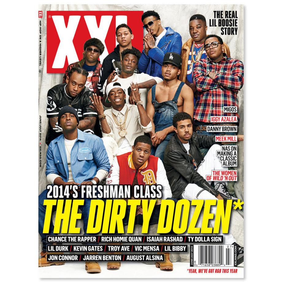 XXL revealed their 2014 Freshman Class today and it's full of recognizable names. The list consists of Chance The Rapper, Rich Homie Quan, Isaiah Rashad, Ty Dolla $ign, Lil Durk, Kevin Gates, Troy Ave, Vic Mensa, Lil Bibby, Jon Connor, Jarren Benton (People's Choice) and August Alsina. They switched things up and added R&B to this year's list and I'm ok with that. I'm gonna go ahead and endorse Chance, Vic, August, Isaiah, and Jon Connor. I'll continue my regular routine and pretend all the other artists don't exist. Even though I don't mess with anything Lil Durk does, it's good to see four Chicago artists on the list. Can't wait for the cyphers and roundtables. Enjoy.   -AO
