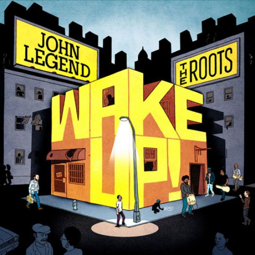 """Wake Up! Well I don't know about you, but I've been waiting for this album for a while. """"Wake Up!"""" is John Legend and The Roots' collaboration album. The album was inspired by Barack Obama's presidential run. The album is mostly covers of many wonderful songs from the 60s and 70s. In my opinion, Wake Up! is very uplifting and it talks about issues that are real. Individually, Legend and The Roots preach songs about self empowerment and awareness and are very soulful artists, and they took all of that to the next level with this album. The album was released today and features many artists like Common, Melanie Fiona, and many others. So I strongly advise you go out and buy this album. It is definitely worth it.       -HB"""