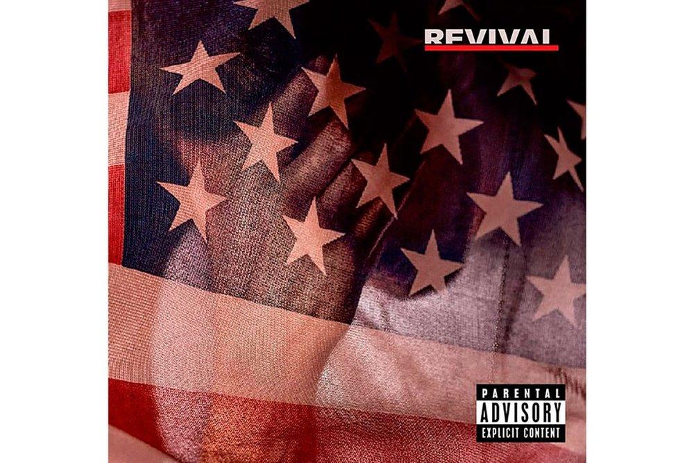 Revival  album cover - Eminem, 12/15/17