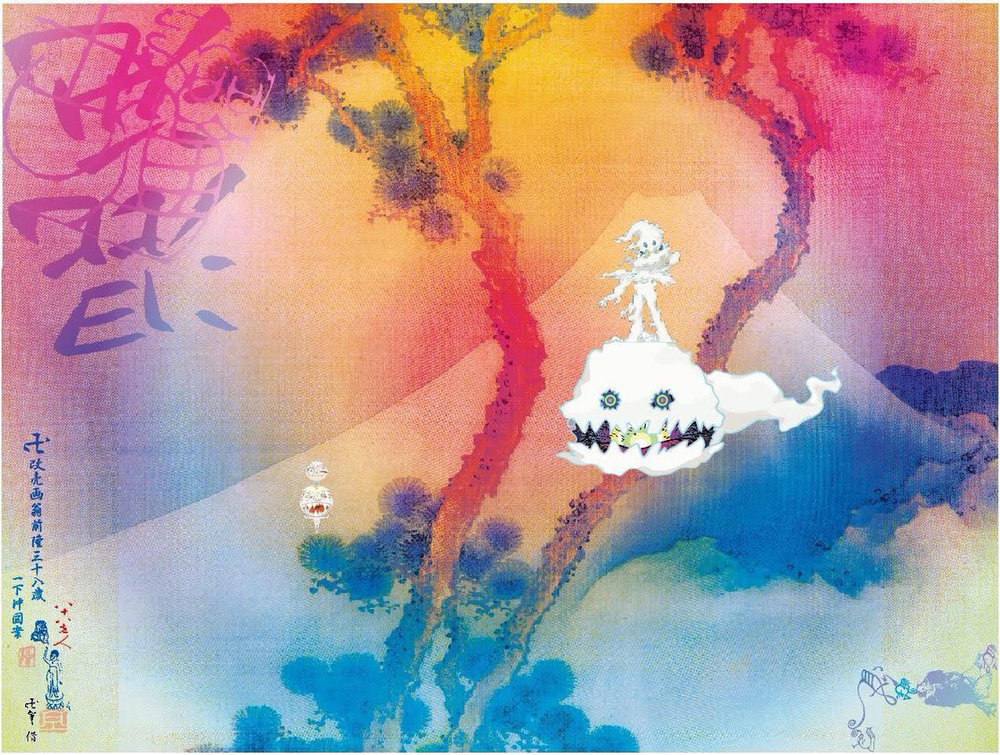 Kids See Ghosts album art