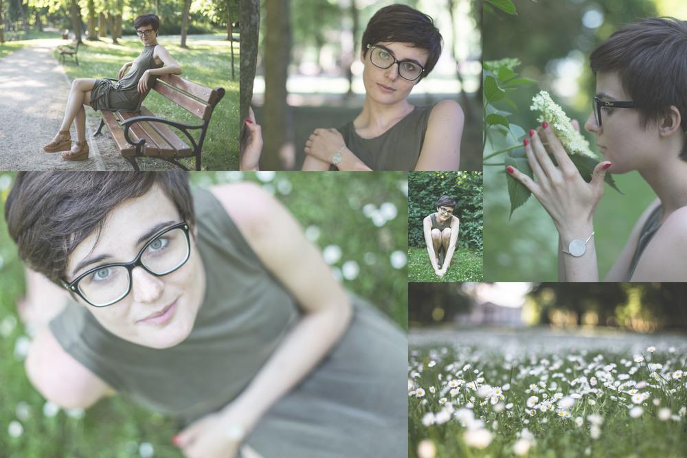 Byliśmy dziś w przepięknym parku w Młochowie, w którym nie było w ogóle ludzi. Zamiast ludzi były ptaki i kwiaty. Coś pięknego.