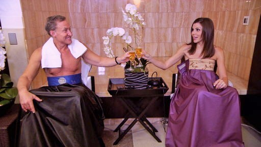 Dr. Terry and Heather Dubrow Try Out V-Steam and A-Steam | Good Work | E!