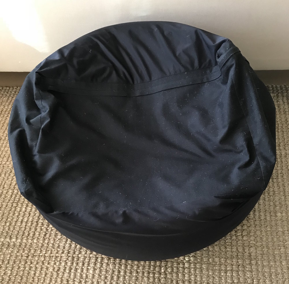 MUJI BEAN BAG   clean and even more comfortable than Eames...    3500 YEN