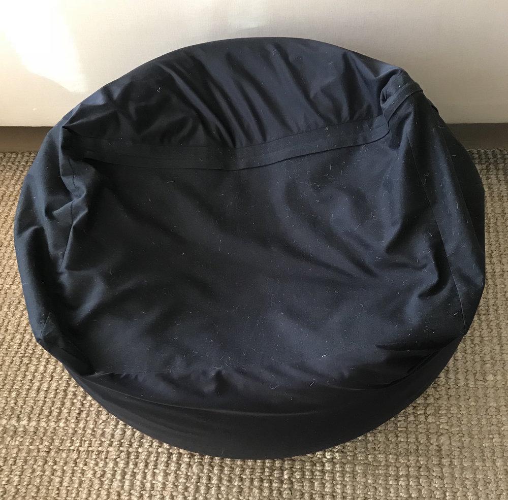 MUJI BEAN BAG  clean and even more comfortable than Eames...   3500 YEN
