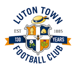 WITH THE GODS CLOTHING - LUTON TOWN FC