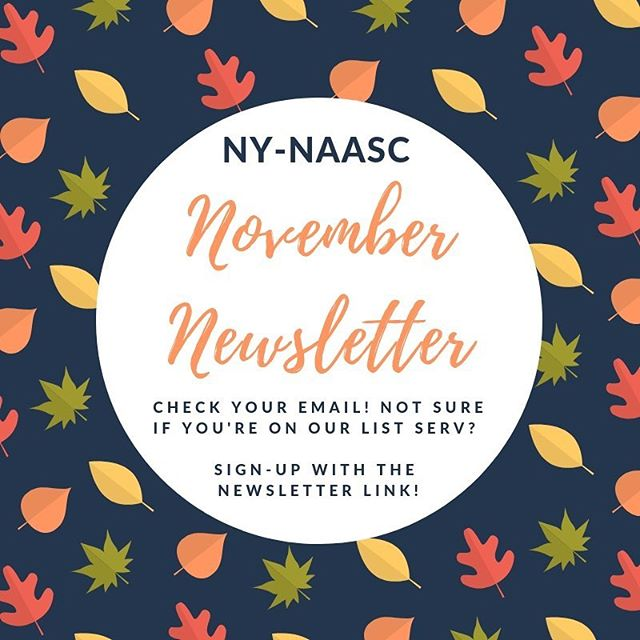 Our November Newsletter just dropped! Check your email or visit the link in our bio 🍁📧💙