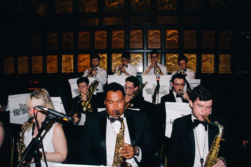 THE duck ball - A night of jazz, from the Durham University Big Band, food and wine, a lot of it! What is not to love?