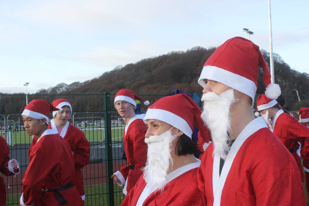 This year the British Heart Foundation will be supported by our Santa Fun Run