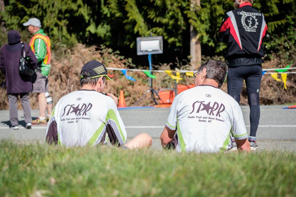 Camaraderie is as an important part to competing at events as times for STARR members. Photo courtesy of Dan Clayton