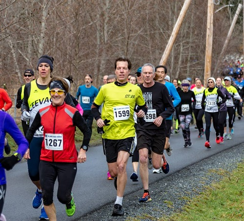 Andy competed at the Hatley Castle race. Photo courtesy of Ken DeEll