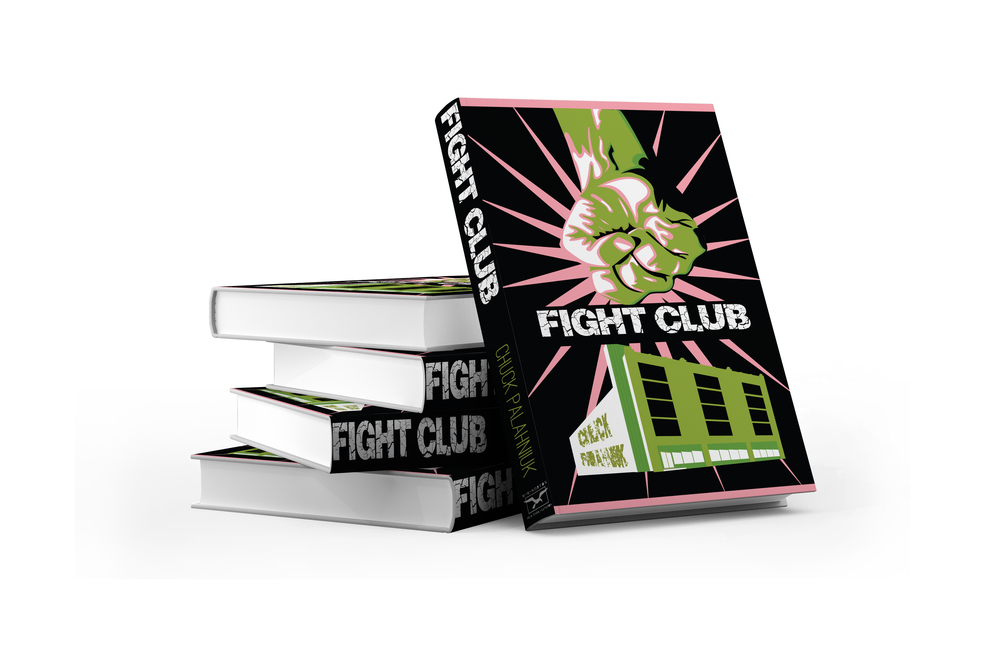 Fight Club Book Illustration