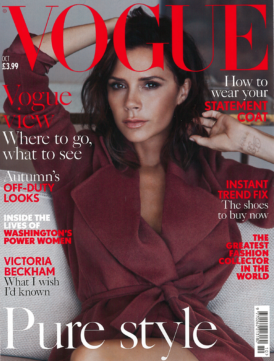 October 2016 Issue of British Vogue Magazine