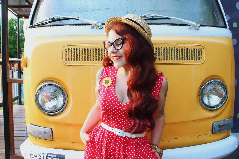 Wax Poetic Sherry Dress in Red Polka Dot 5.jpg