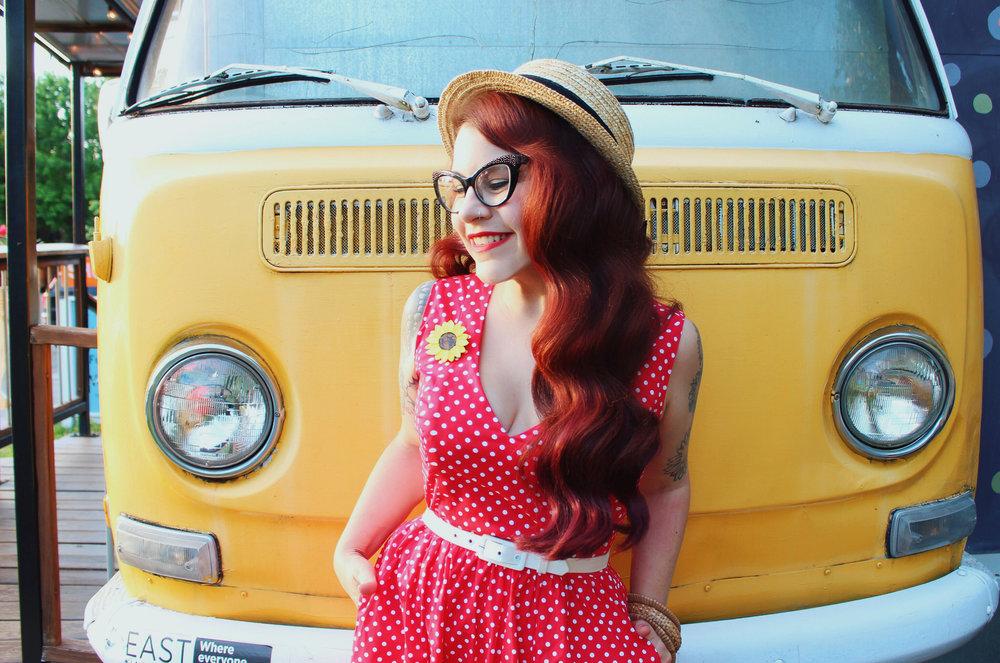 Wax Poetic Sherry Dress in Red Polka Dot 6.jpg