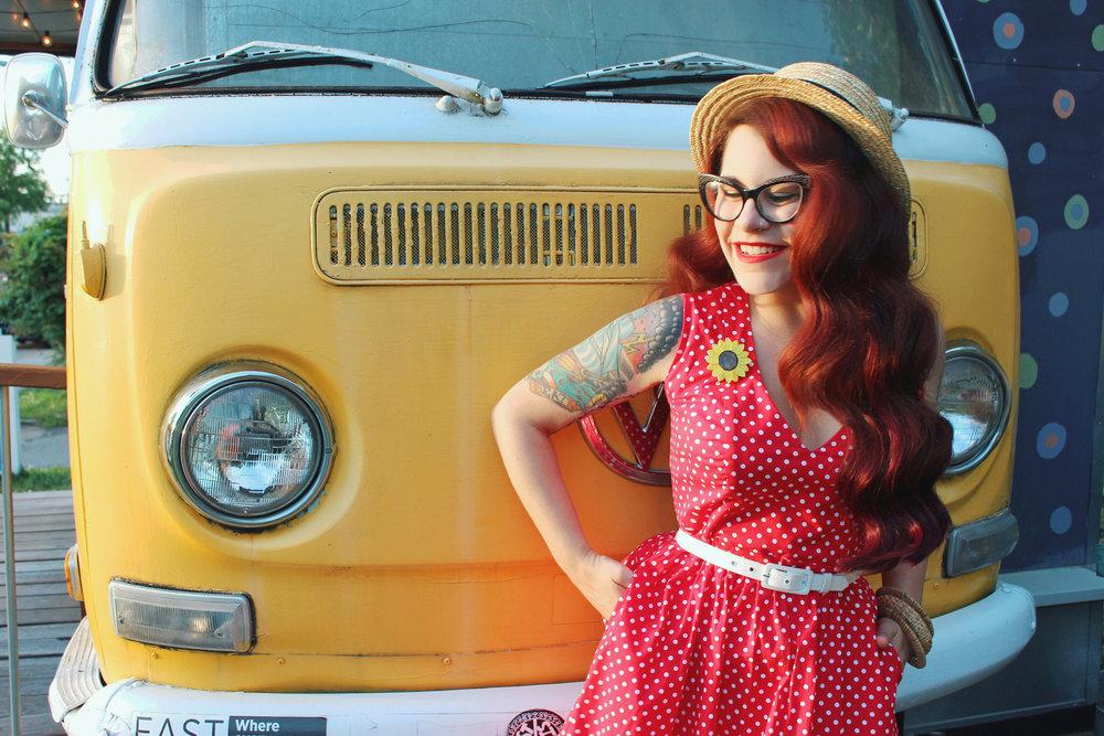 Wax Poetic Sherry Dress in Red Polka Dot 7.jpg