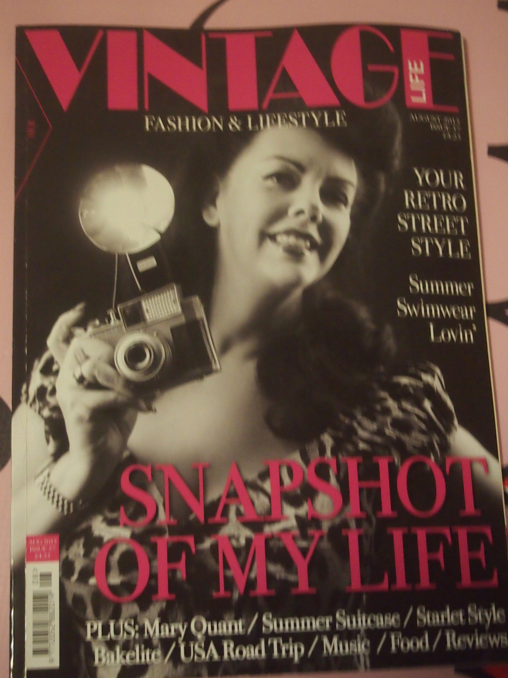 Vintage Life Magazine August 2015 Ad Campaign