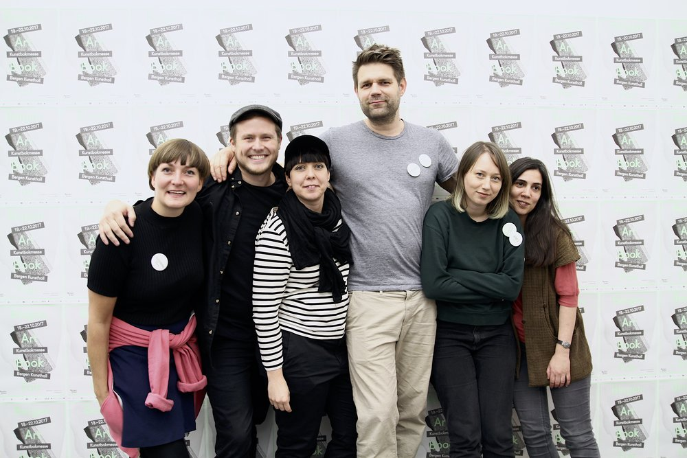 From left: Alexandra Segerstedt, Mads Andersen, Infrid Rundberg, Fredrik Rysjedal, Ann-Kristin Stølan and Raquel Maya Marques.  Photo: Thanee Renee