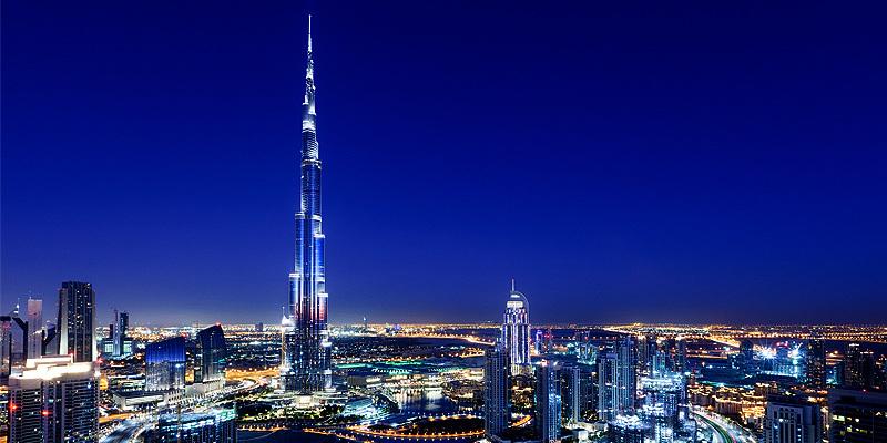 哈利法塔是世界上最高的建築物。