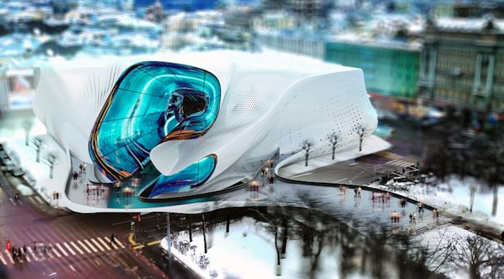 """為新莫斯科創造一個非凡的""""遊行入口""""!"""