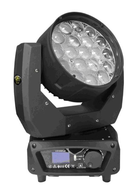 LED 19x15W調焦染色搖頭燈 -