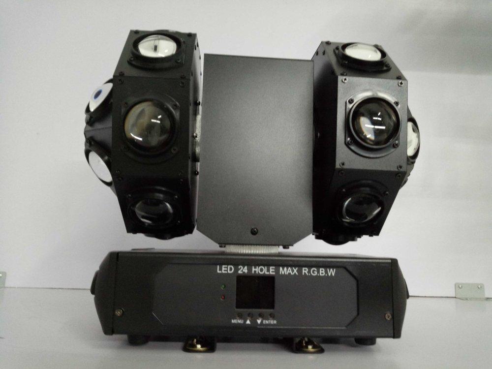 LED 24*10W 雙滾搖頭燈 -