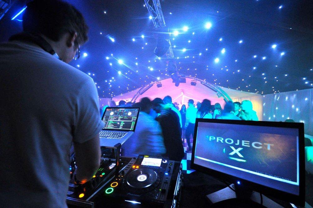DJ logo VJING