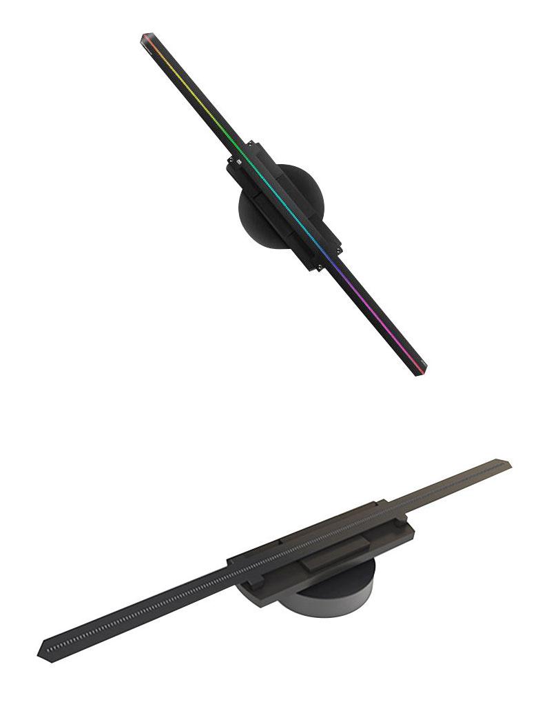 - 3D全息投影風扇 50cm內置WiF傳輸功能