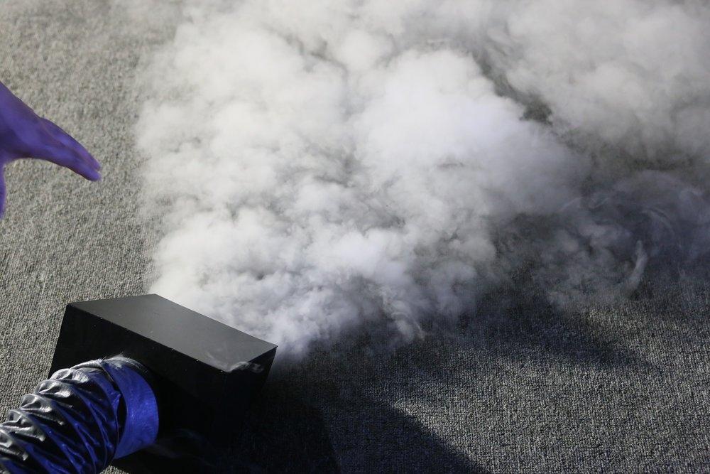 煙霧運作情況
