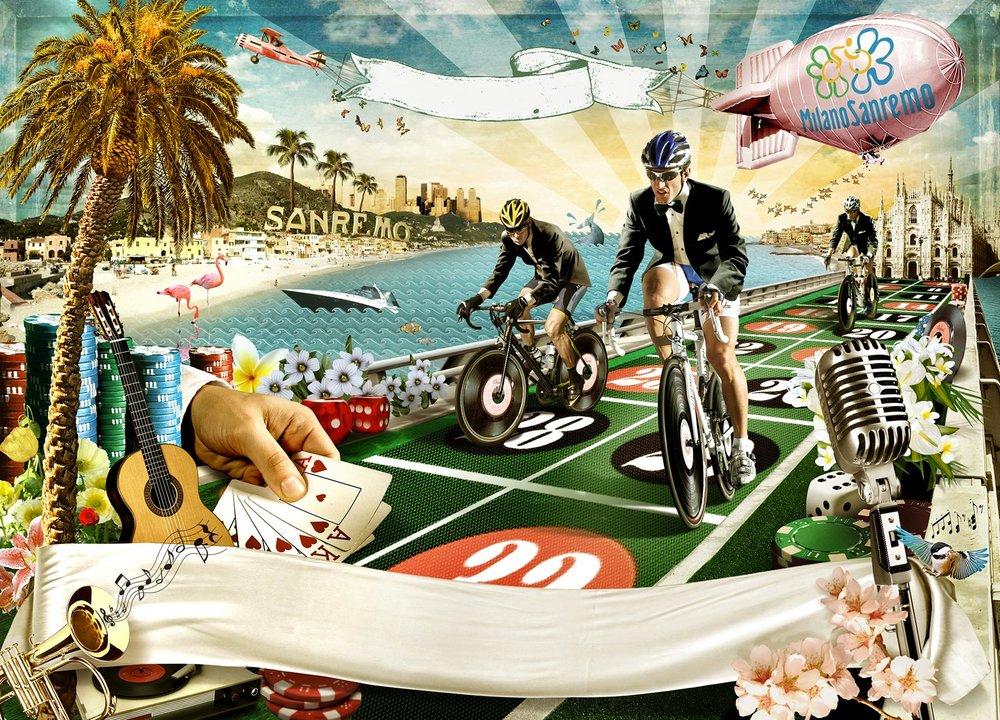 Milano-Sanremo Bike race