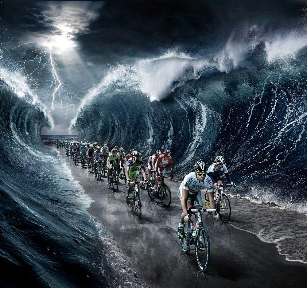 """Tirreno Adriatico"" bike race"