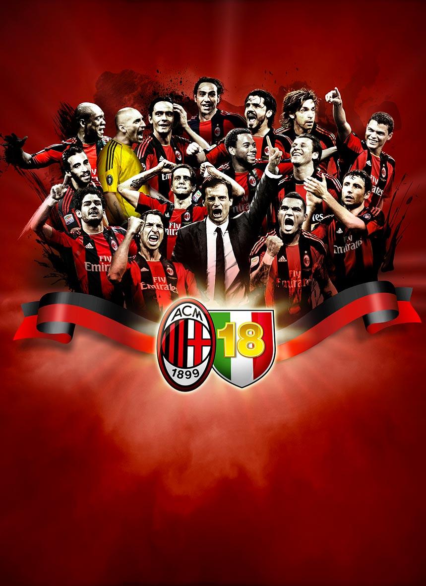 Milan championship victory
