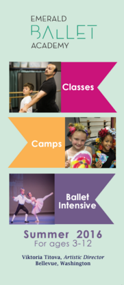 Classes, camps and ballet intensives for ages 3-12