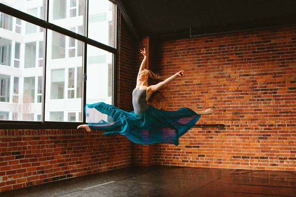 - Kaelyn is a Trainee at Ballet West. © Ballet Zaida