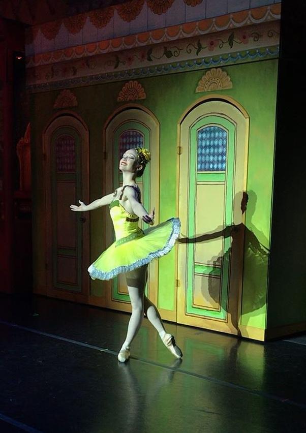 - Emmeline dances professionally for the Utah Metropolitan Ballet and attends Utah Valley University on full scholarship.