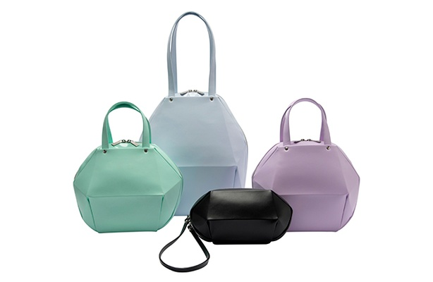 Pleats Please Issey Miyake Carapace bags