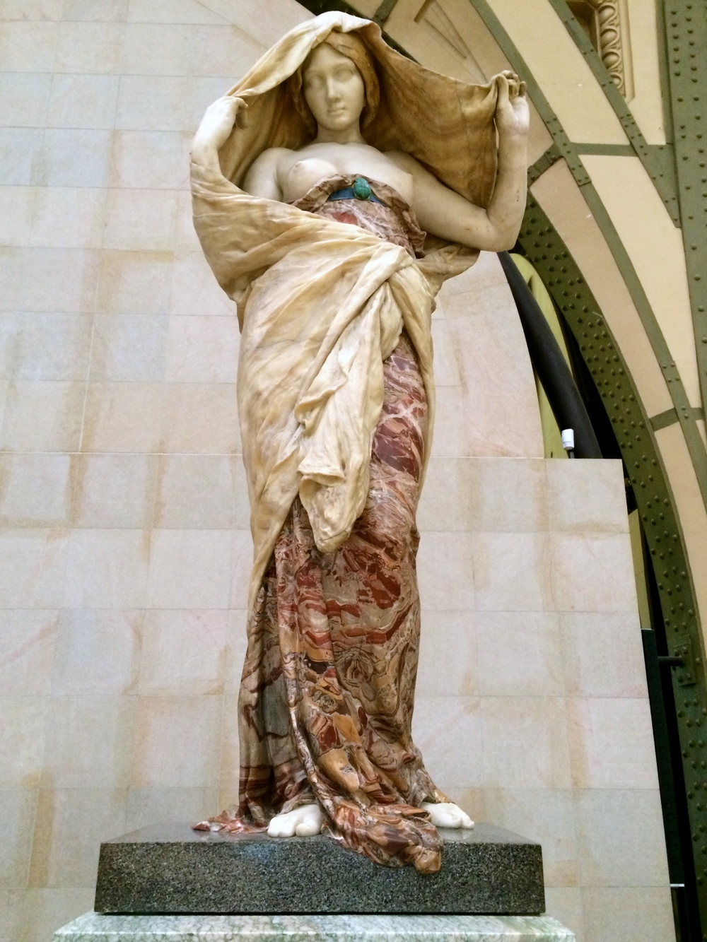 These are a few of my favourite things... delicately sculpted polychrome marble.