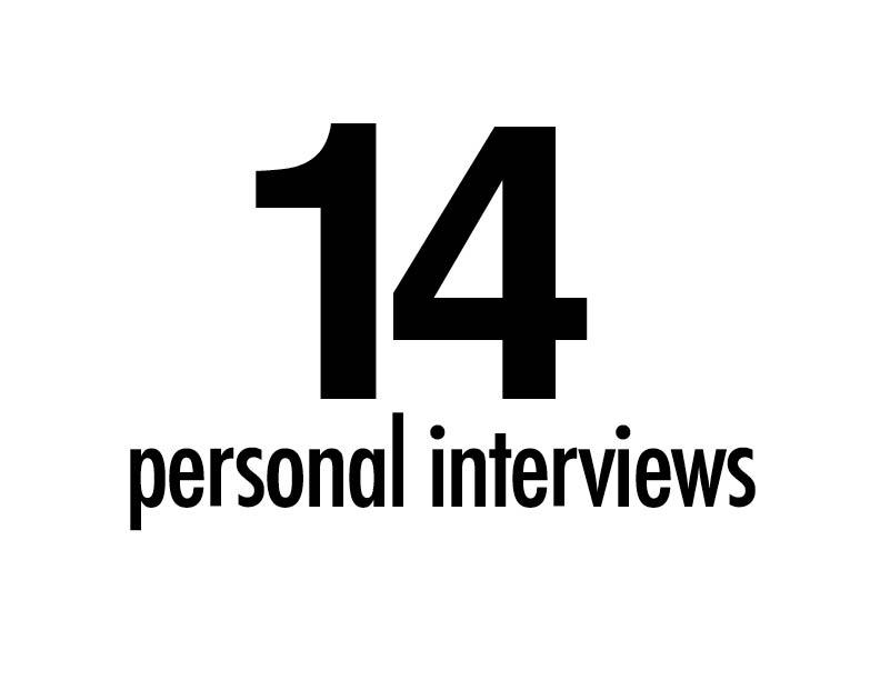 14 personal interviews.jpg