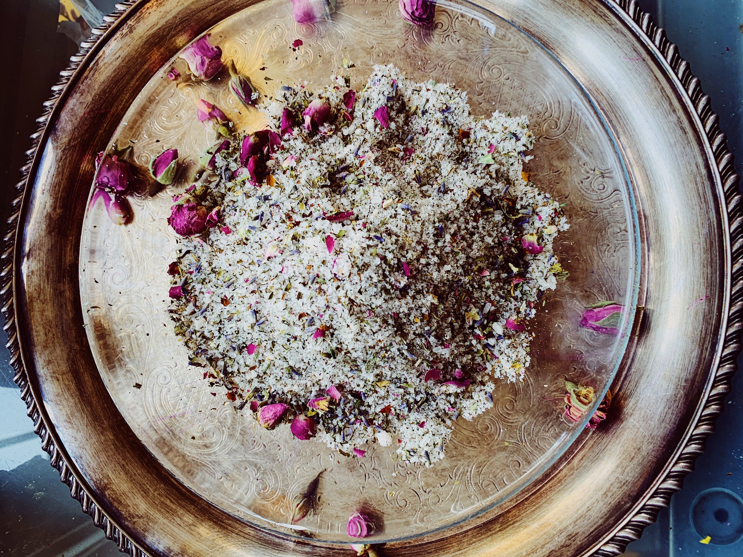 Herbal Bath Salts for Energetic and Spiritual Cleansing — Evolve