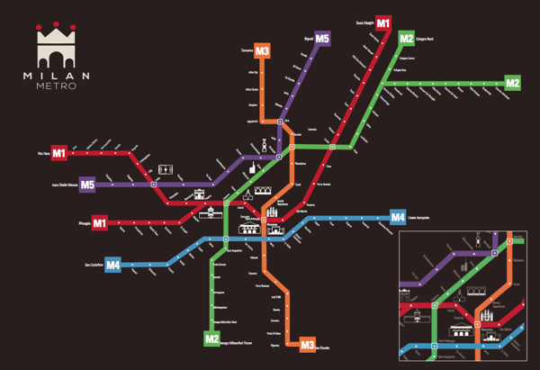 Persona 5 Subway Map.Milan Metro Map Jazz It Up