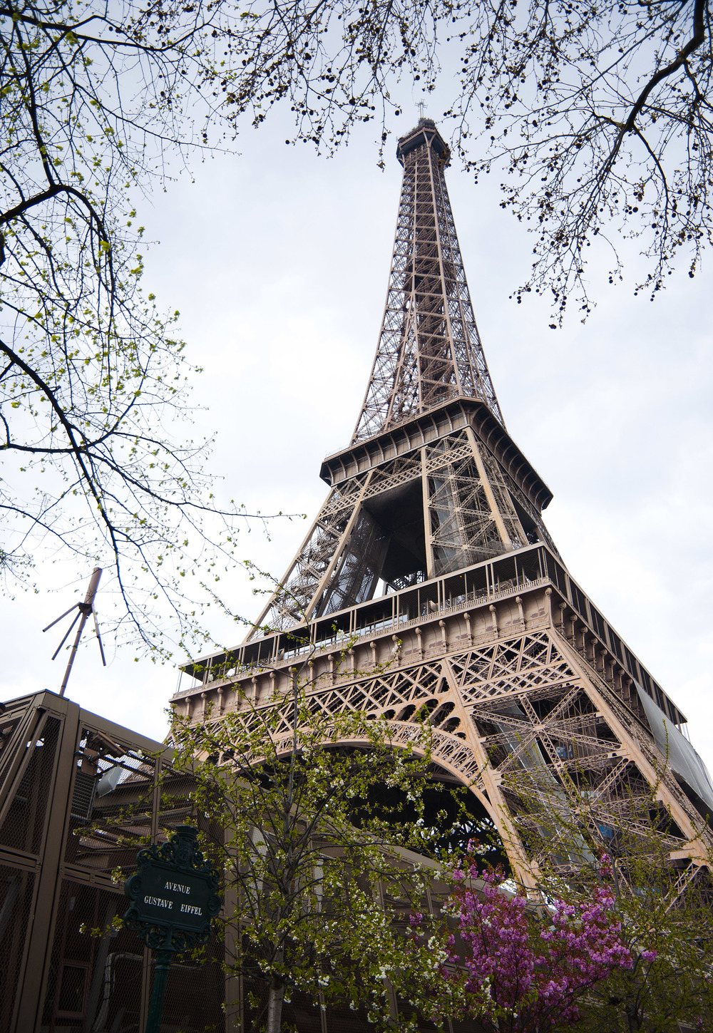 Built from 1887 to 1889, the Eiffel Tower was designed to sway as much as three inches in the wind.