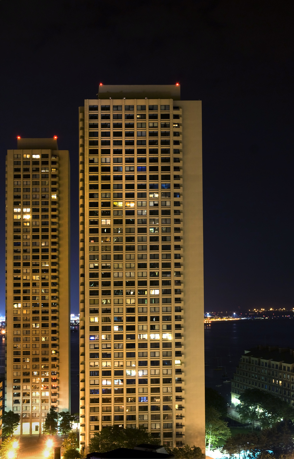 Designed by I.M. Pei in 1971, Boston's Harbor Towers have gone from being built as subsidized affordable housing to becoming one of Boston's most exclusive addresses.