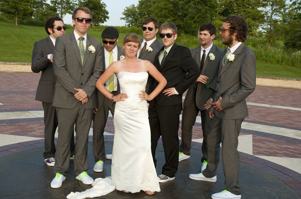 Julie and the Groomsmen
